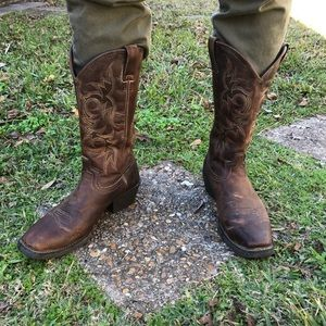 "Justin Men's Stampede 13"" Square toe boots"
